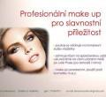 Profesionální slavnostní make-up